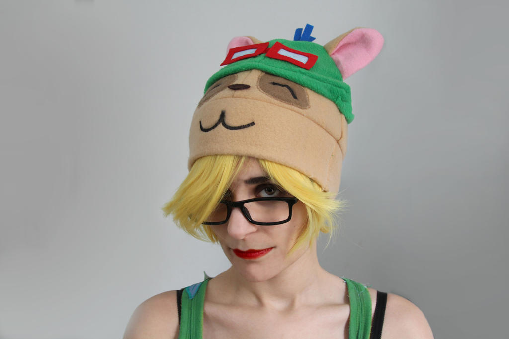 Teemo Character Hat by Bllacksheep