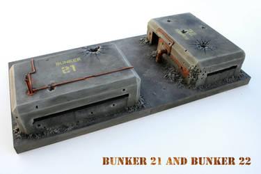 bunker 21 by ariscene