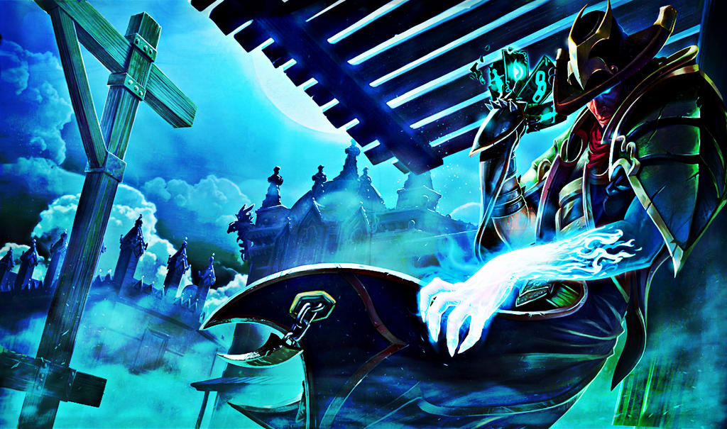 League of Legends-Underworld Twisted Fate by DoeCry on ...
