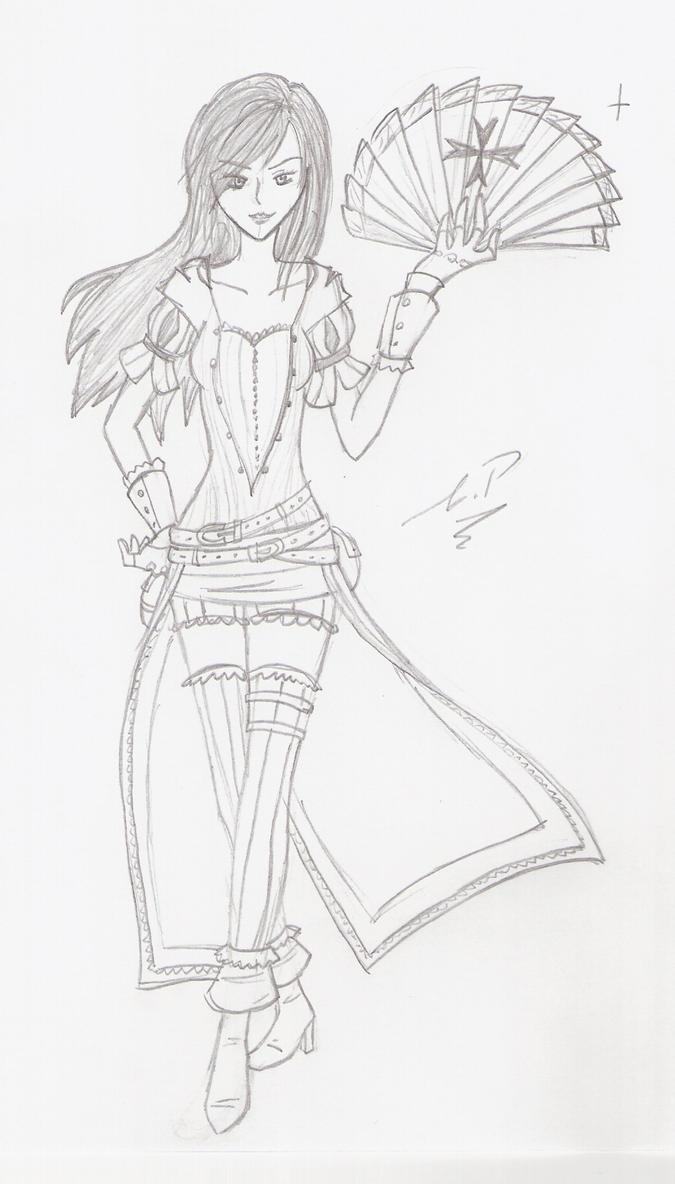 Line Drawing Game Multiplayer : Acb the courtesan line art by rukiexramen on deviantart
