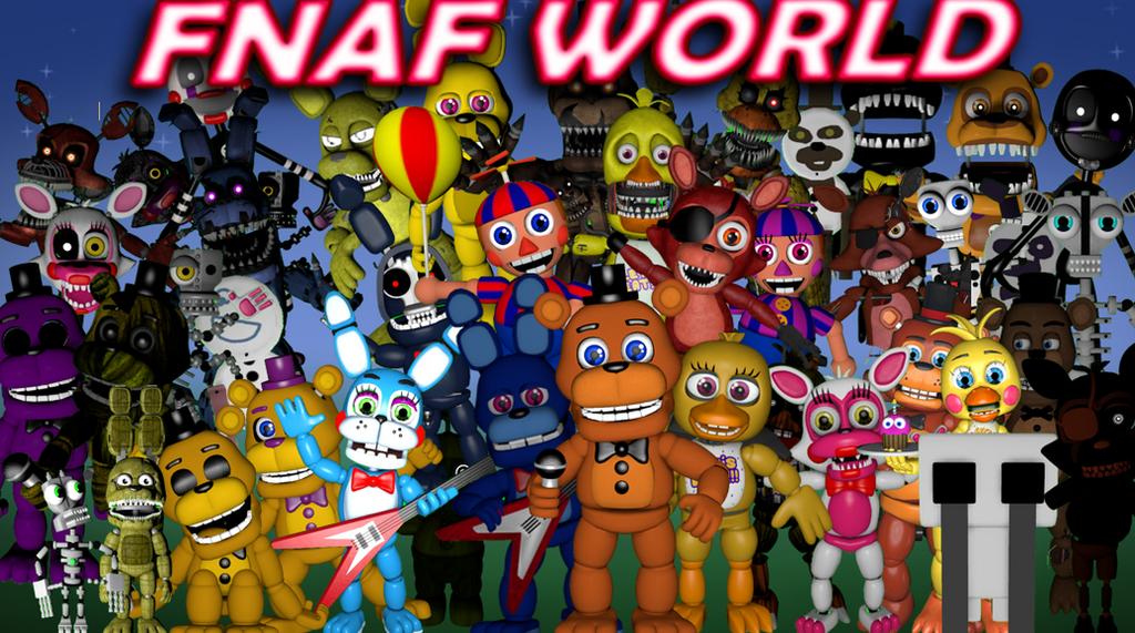 nope f naf world wallpaper - photo #14