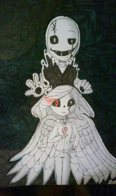 'under his controll' gaster and goldie by sherlyprime