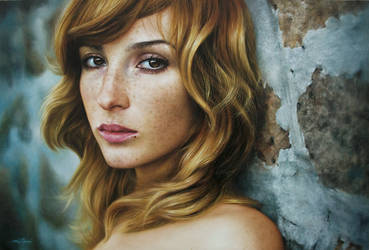 oil painting on canvas  by fabiano millani