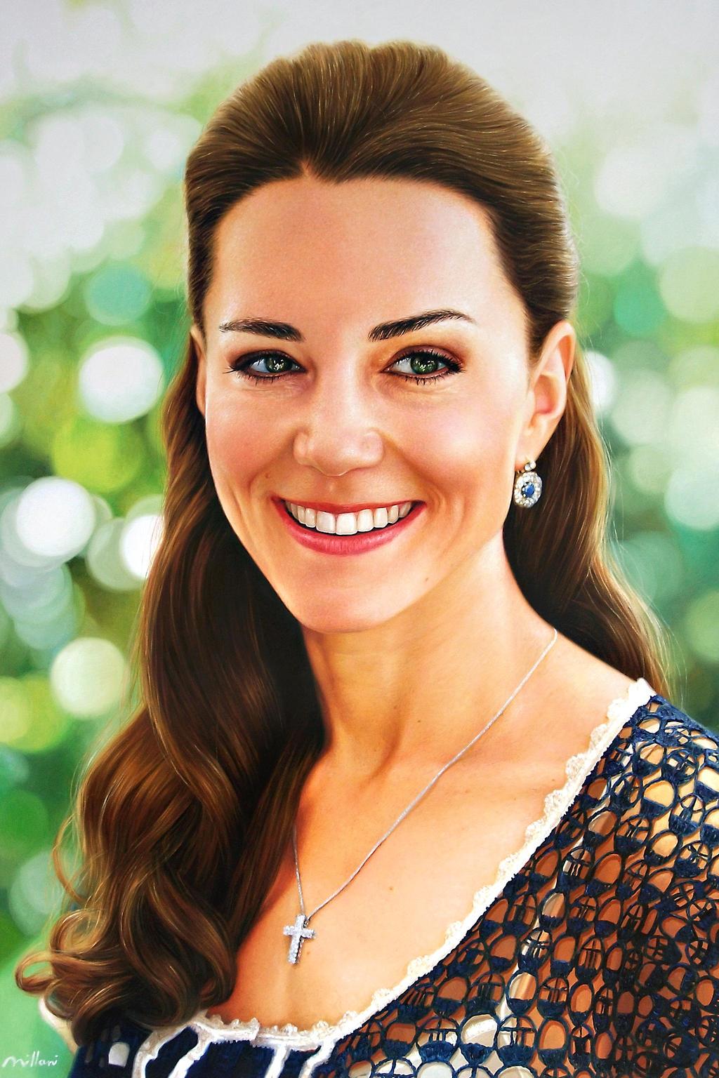 Princesa Kate Middleton by fabianoMillani