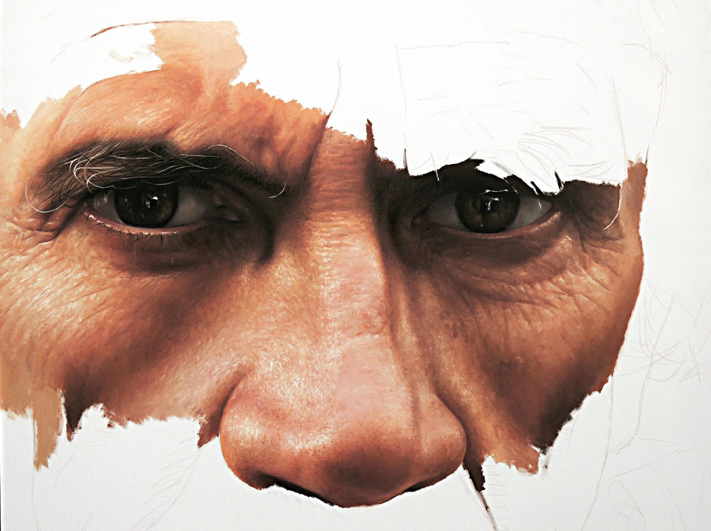 Hyper Realistic Painting by millani by fabianoMillani on ...