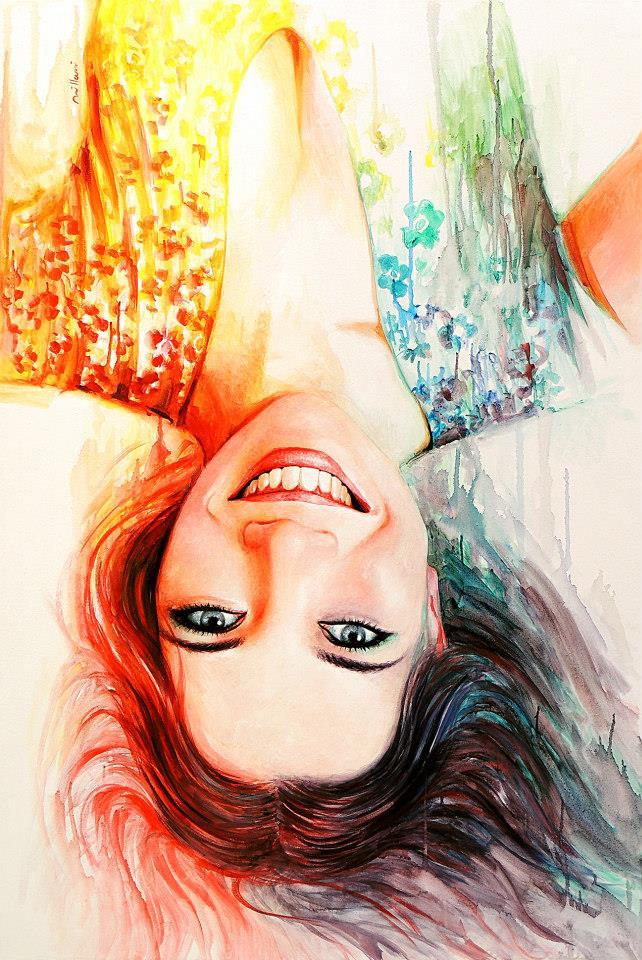 Aquarela Upside Down by fabianoMillani