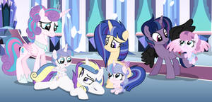 Mlp [Next Gen] Time to play with Flurry's kids