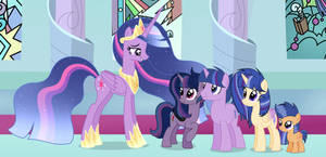 Mlp [Next Gen] We came to see you mommy