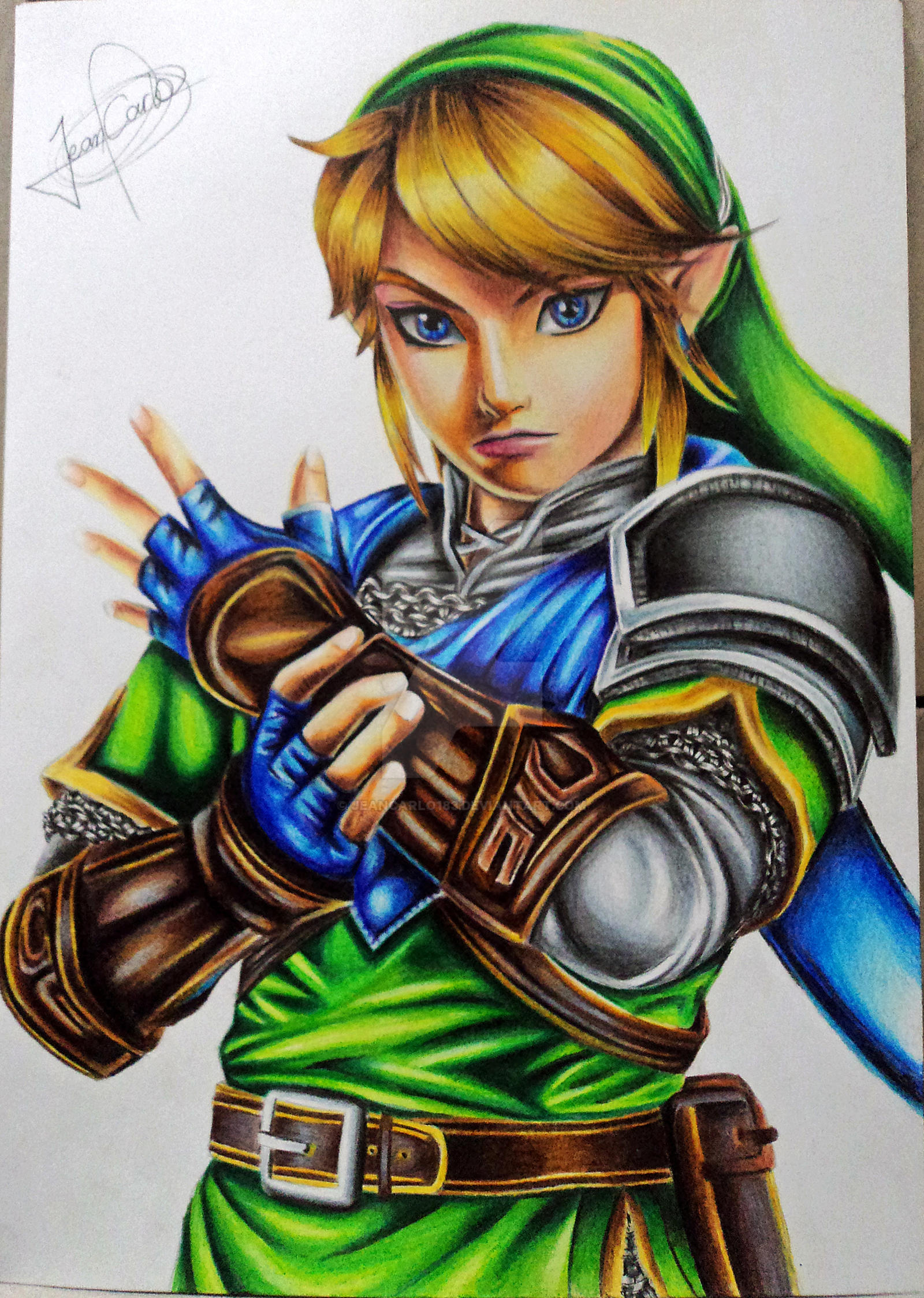 Uuu U >> Link - The Legend of Zelda: Hyrule Warriors by JeanCarlo183 on DeviantArt