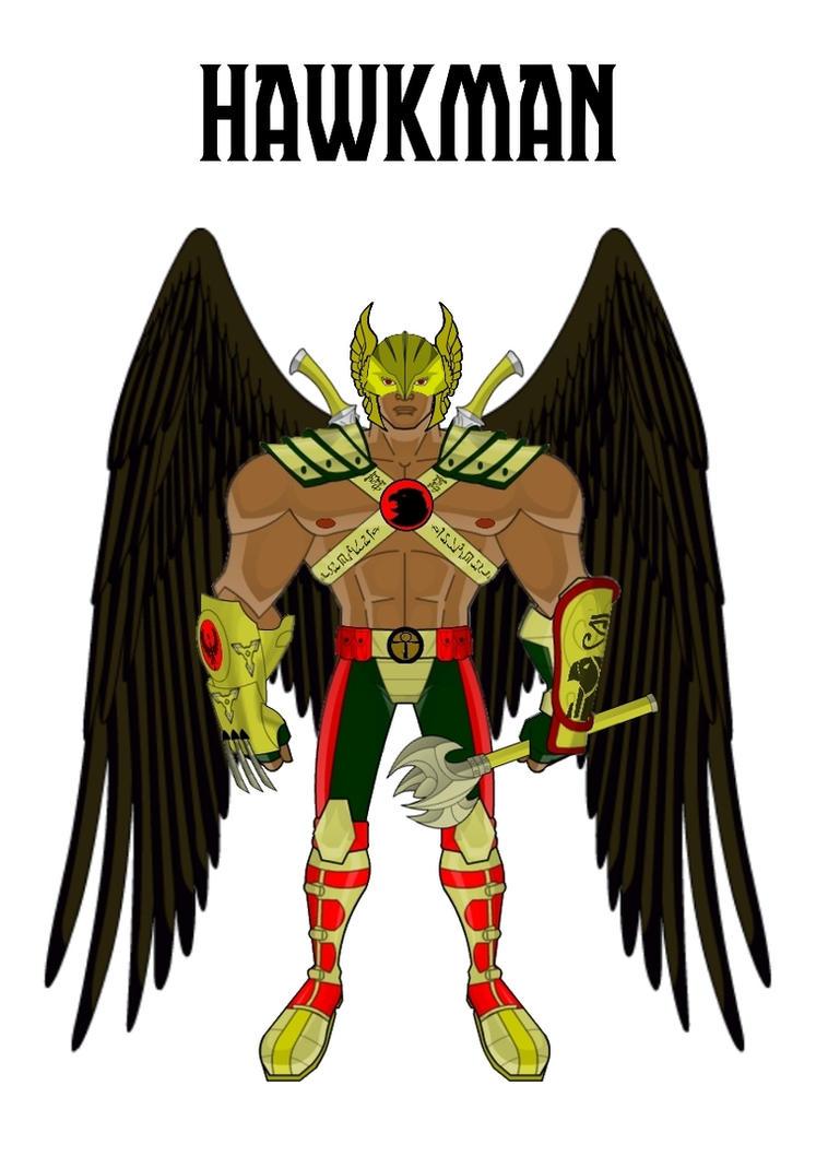 Hawkman (Update Design 3) by Eye-of-Ra-X