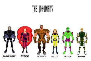 The Inhumans (Update Designs) by Eye-of-Ra-X