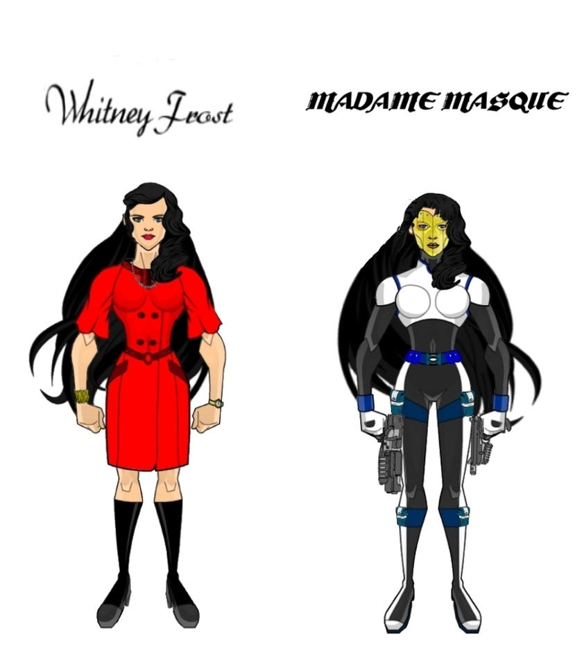 Whitney Frost/Madame Masque (Update Design) by Eye-of-Ra-X