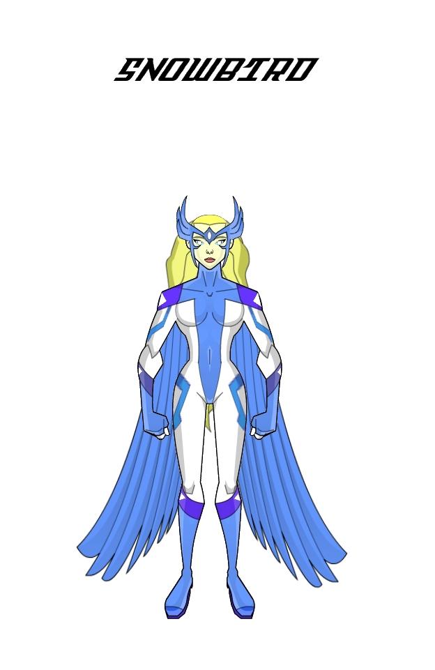 Snowbird (Update Design) by Eye-of-Ra-X