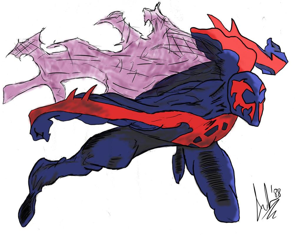 Spider-Man 2099 By Lele1988 On DeviantArt