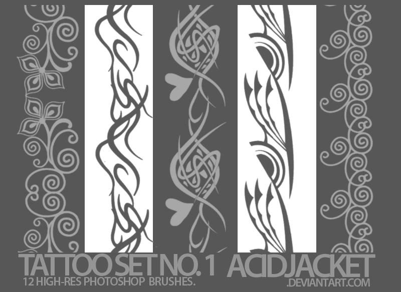 tattoo set no. 1 by dyslexxiicon