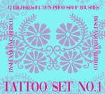 tattoo set no. 1