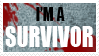I'm A Survivor Stamp by reynaruina