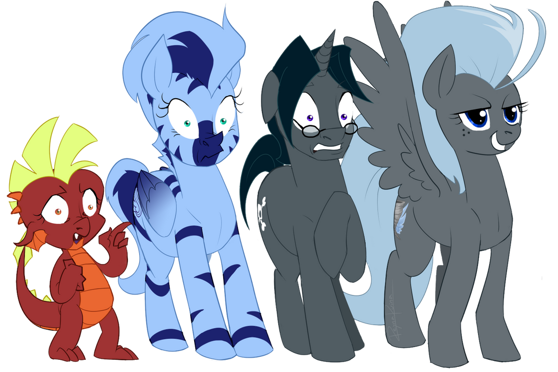MLP: Group Reaction by reynaruina