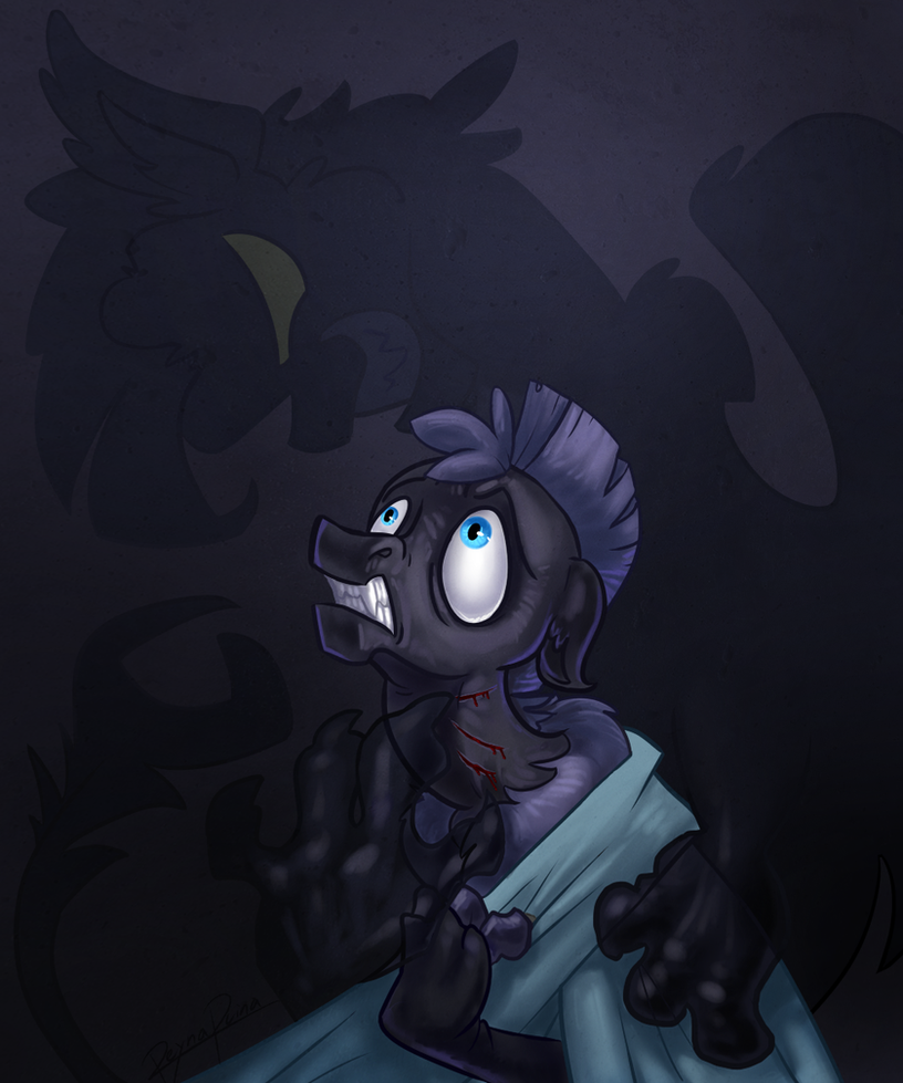 MLP: The shadows on my walls don't sleep by reynaruina