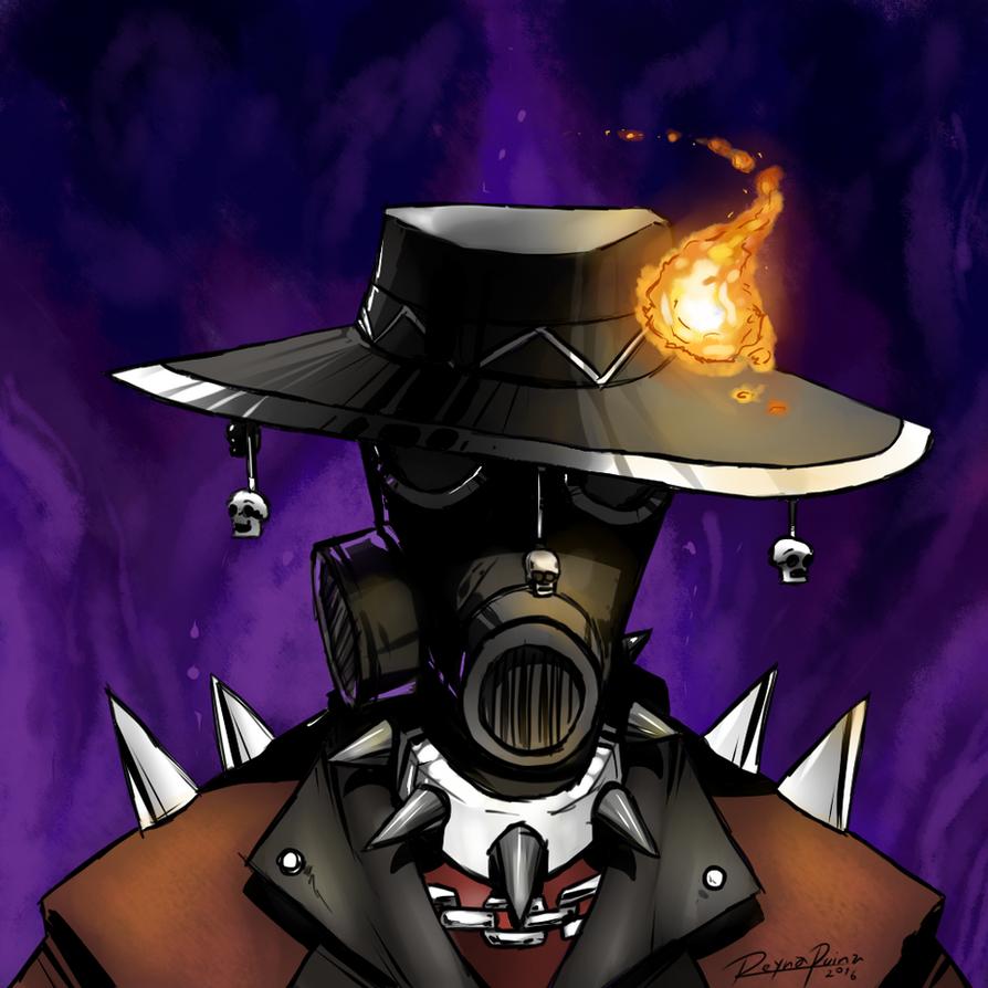 TF2: Caballero de Fuego by reynaruina