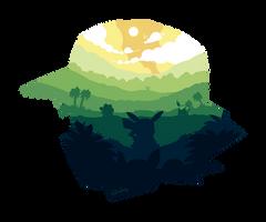 COMISSION: Pokemon World by reynaruina