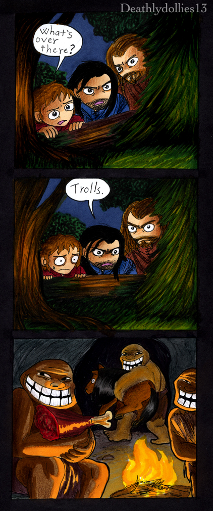 Trolls. by Deathlydollies13