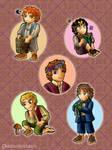 Cute Hobbits