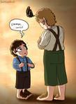 Naughty Little Frodo