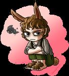 A Slightly Annoyed Bunny