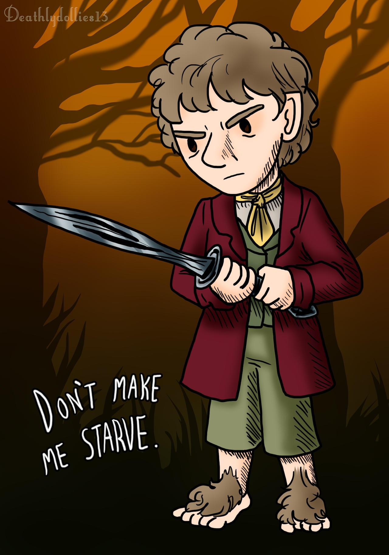 Don't Starve: Bilbo Baggins