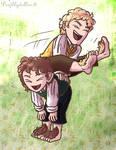 Happy hobbits