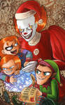 Red-headed Christmas