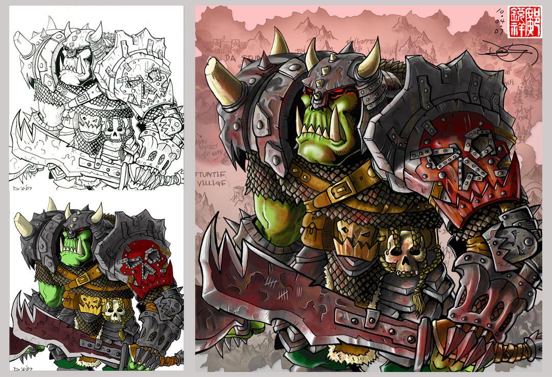 Orc Choppa by DKuang
