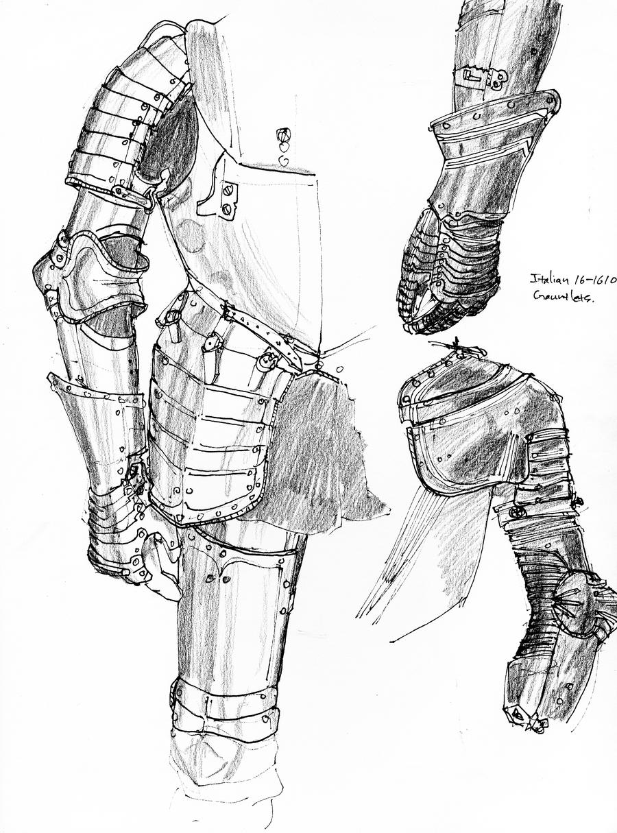 Armor Sketches by DKuang
