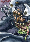 Venom 3 Sketch Card