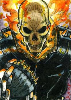 Ghost Rider Sketch Card
