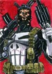 Punisher 2 Sketch Card