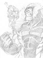 Sabretooth Sketch by DKuang