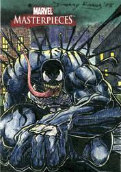 Venom MM3 Sketch Card by DKuang