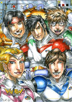 Voltron Team by DKuang
