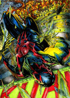 Spider-man 2099 Commission by DKuang