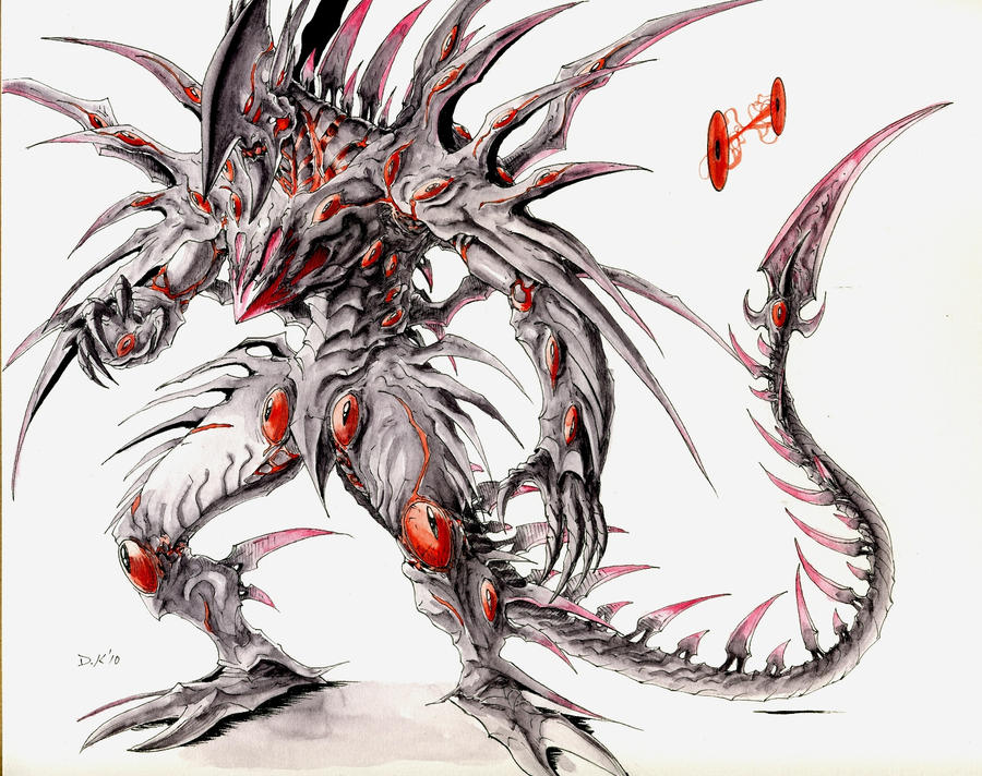Xeno Tech Draksith Concept By Dkuang On Deviantart