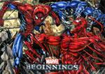 Spiderman and Venom vs Carnage MB2