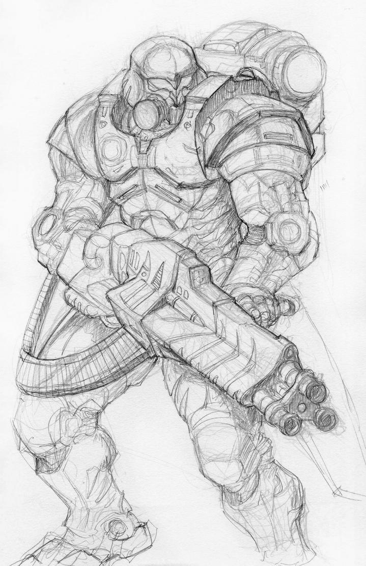 Battle Suit by DKuang