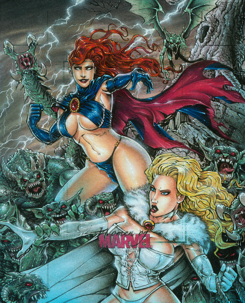 Goblin Queen vs White Queen by DKuang