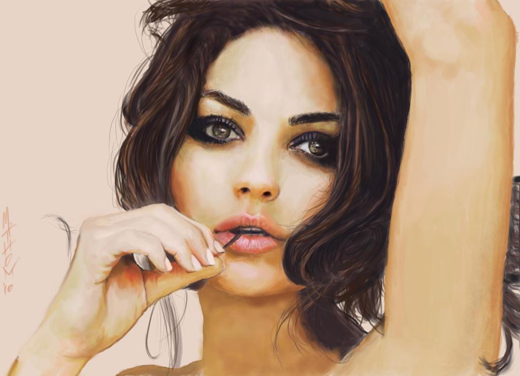 Mila Kunis 2011 by MichaelThom