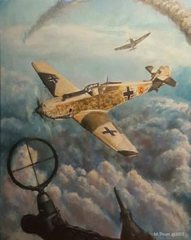 Messerschmitt 16x20 oils on canvas
