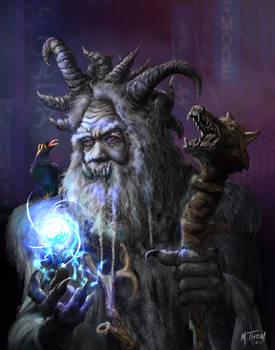 Yog-Shadowrun Troll Magician