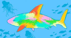 Colorful Shark