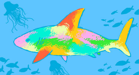 Colorful Shark